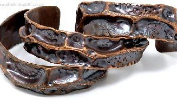 Rustic Copper Cuff - FANTASY