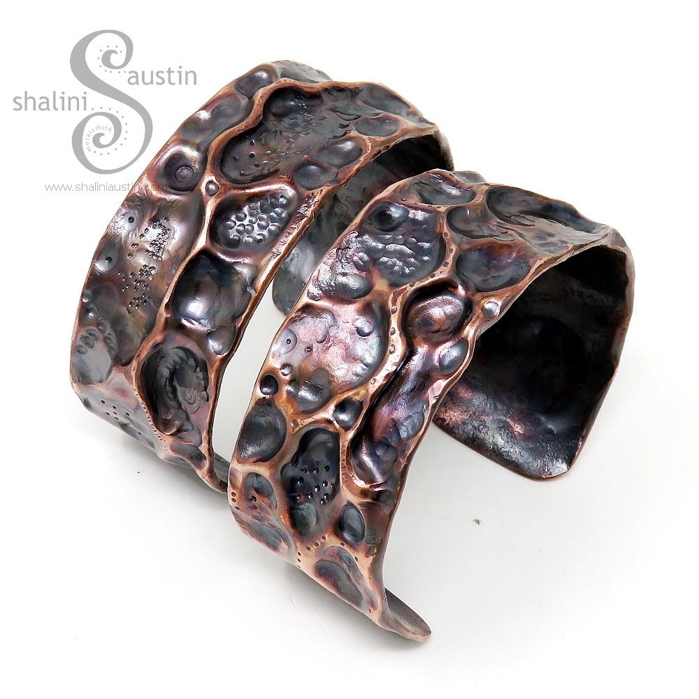 Bespoke Copper Pipe Cuffs Fantasy 8 & Fantasy 9